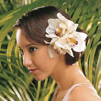 Beauty, Flowers & Decor, Bride Bouquets, Bride, Flowers, Hair, Orchids