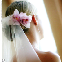 Beauty, Veils, Fashion, Bride, Veil, Hair, Orchids