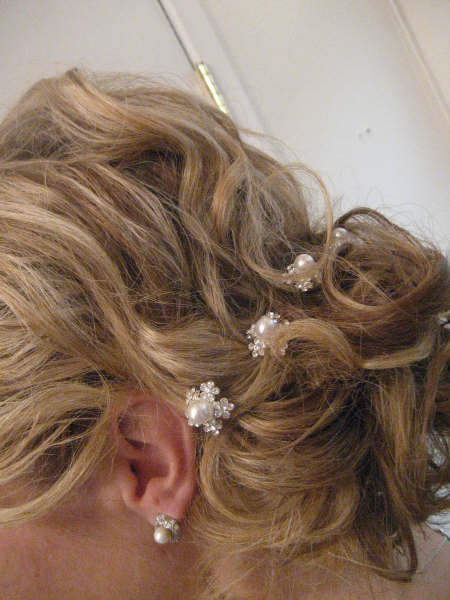 Hair, Bride, Curly, Low-do, Beauty, Curly Hair