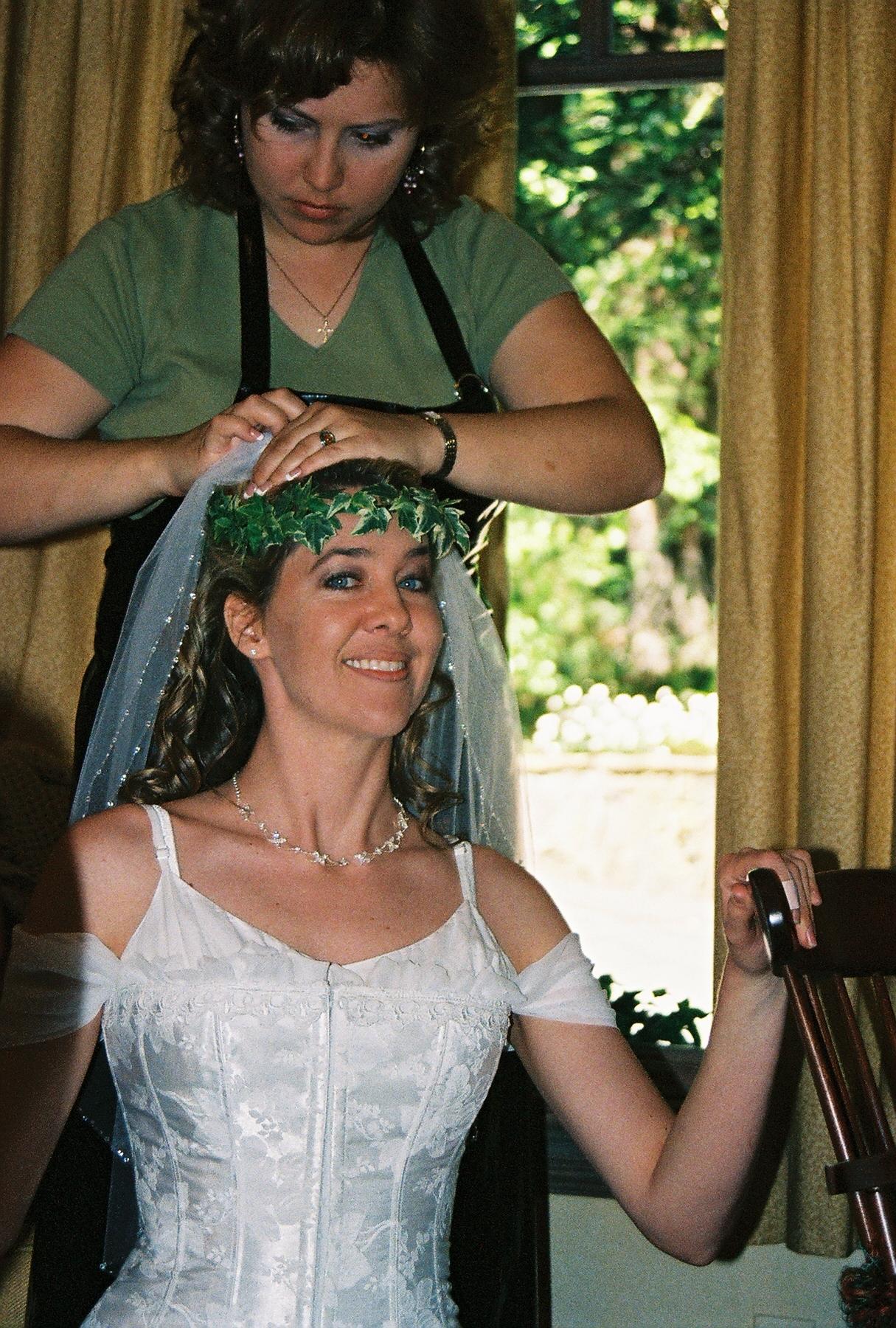 Beauty, Wedding Dresses, Fashion, dress, Bride, Hair, Nestldown, Make-up