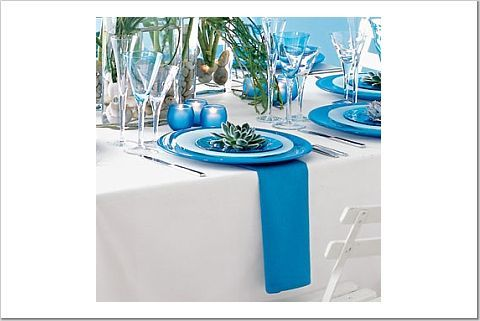 Reception, Flowers & Decor, blue, Tropical, Aqua