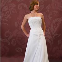 Wedding Dresses, Fashion, dress, Corset, Chiffon, Kylie, Chiffon Wedding Dresses