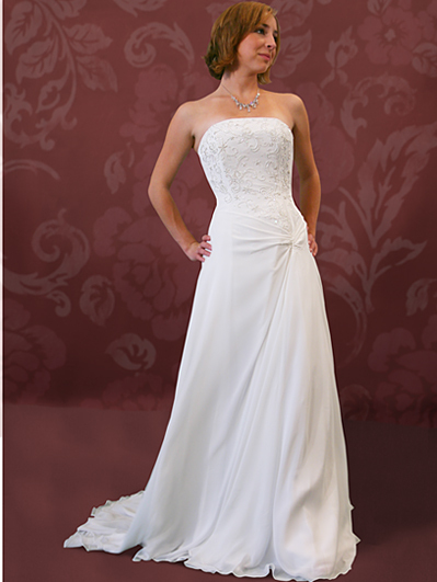 Wedding Dresses, Fashion, dress, Corset, Chiffon, Kylie, Chiffon Wedding Dresses