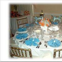Reception, Flowers & Decor, blue, Beach, Beach Wedding Flowers & Decor, Seashell, Aqua