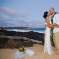 Ceremony, Flowers & Decor, Beach, Bride, Beach Wedding Flowers & Decor, Groom, Wedding, Kauai