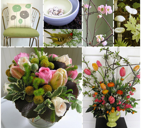Flowers & Decor, orange, pink, green, Centerpieces, Flowers, Centerpiece, Inspiration board