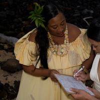 Ceremony, Flowers & Decor, Beach, Beach Wedding Flowers & Decor, Wedding, Kauai, Manulele