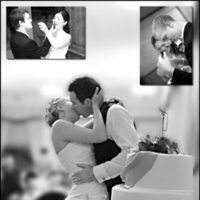 Reception, Flowers & Decor, Cakes, cake, Bride Bouquets, Bride, Flowers, Groom, Cutting, Couples