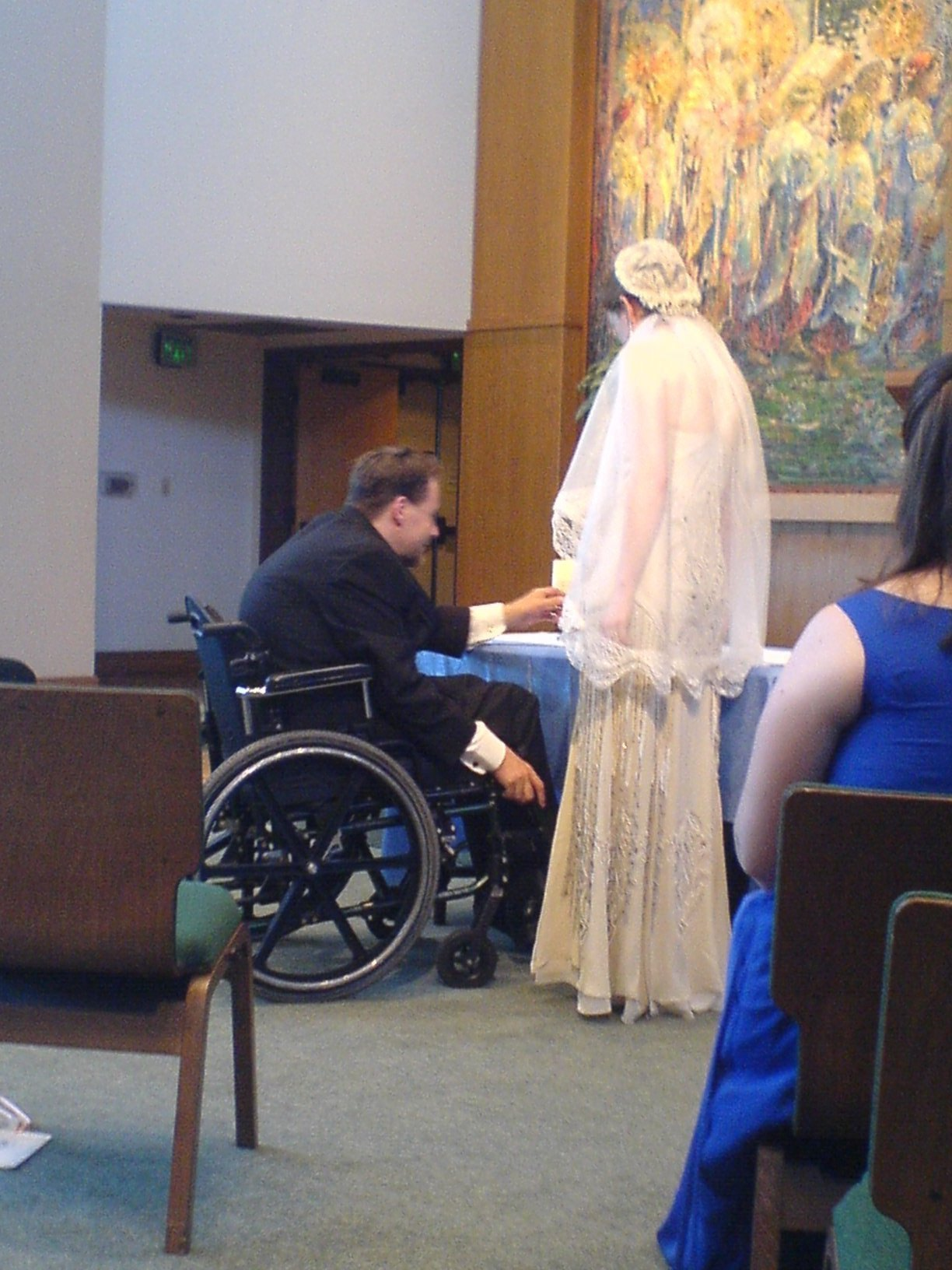 Ceremony, Flowers & Decor, Wheelchair