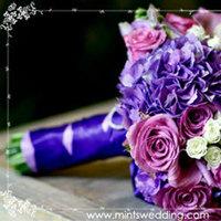 Flowers & Decor, purple, Bride Bouquets, Flowers, Bouquet, Mints