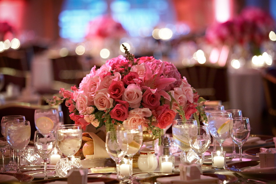 pink, Centerpieces, Classic Wedding Flowers & Decor, Garden Wedding Flowers & Decor