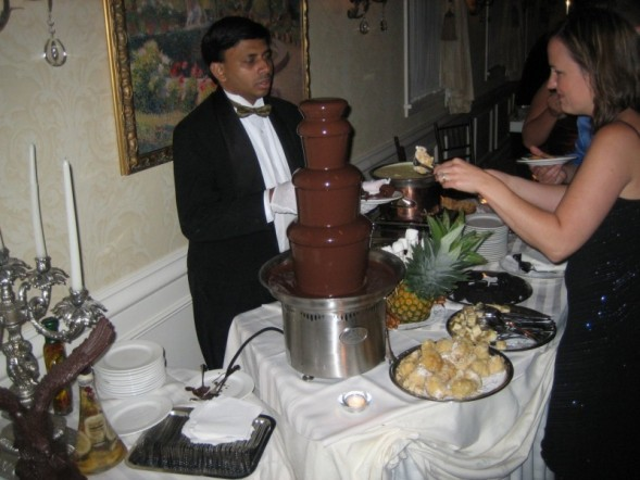 Fountain, Chocolate