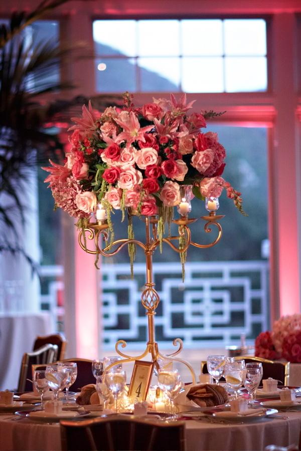 pink, Centerpieces, Glam Wedding Flowers & Decor, Vintage Wedding Flowers & Decor