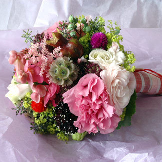 pink, Bouquet, Fleurs bella