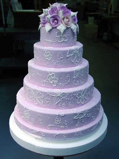 purple, Wedding cakes online