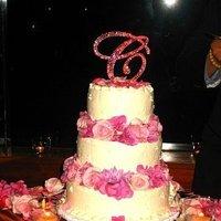 Cakes, cake, Monogrammed Wedding Cakes, Monogram, Bev, Tanaka
