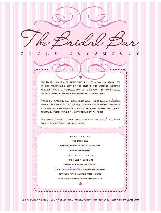 Planning, Wedding, Bridal, Boutique, Bar, Vendors, Showroom