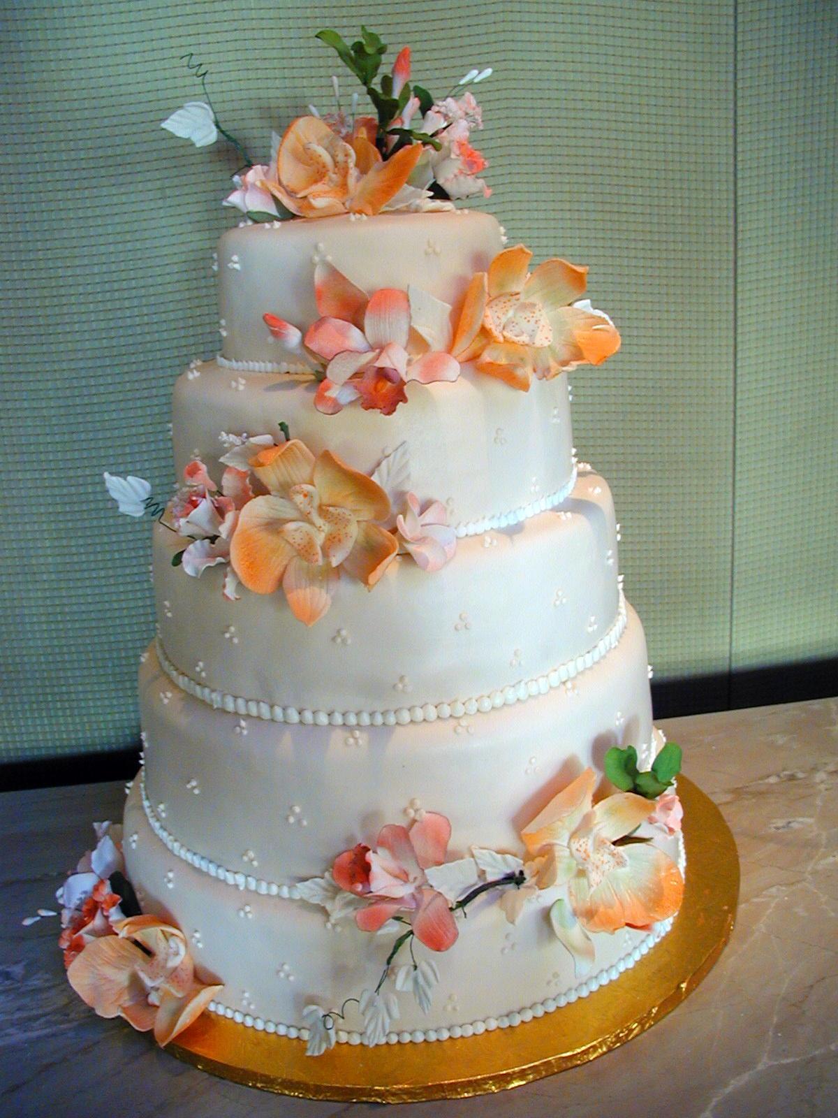 Cakes, orange, cake, La promenade