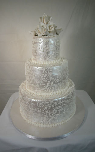 Cakes, white, cake, Carloss bakery