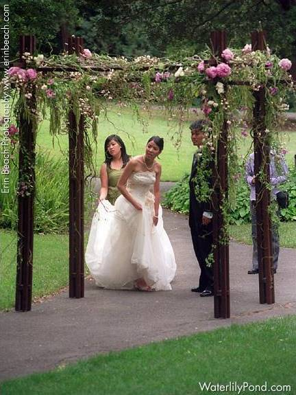 Ceremony Flowers, Garden Wedding Flowers & Decor, Spring Wedding Flowers & Decor