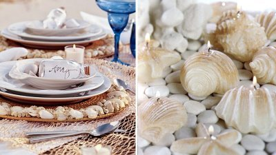 Reception, Flowers & Decor, Decor, Beach, Beach Wedding Flowers & Decor