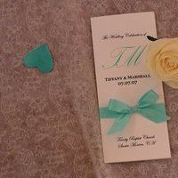 Ceremony, Flowers & Decor, blue, Program
