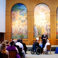Ceremony, Flowers & Decor, Church, Wheelchair