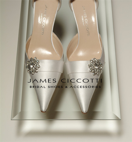 James ciccotti bridal shoes and accessories
