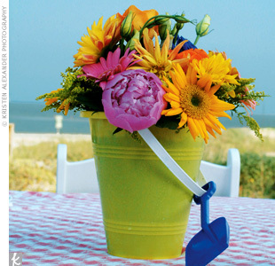 Flowers & Decor, Beach, Centerpieces, Flowers, Beach Wedding Flowers & Decor, Centerpiece