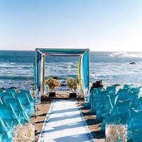 Ceremony, Flowers & Decor, Beach, Beach Wedding Flowers & Decor