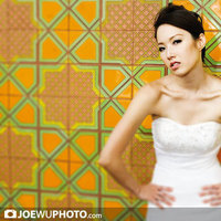 Beauty, Wedding Dresses, Fashion, white, yellow, dress, Makeup, Bride, Hair, Joe wu photo