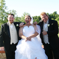 Groomsmen, Bride, Melissa anne photography