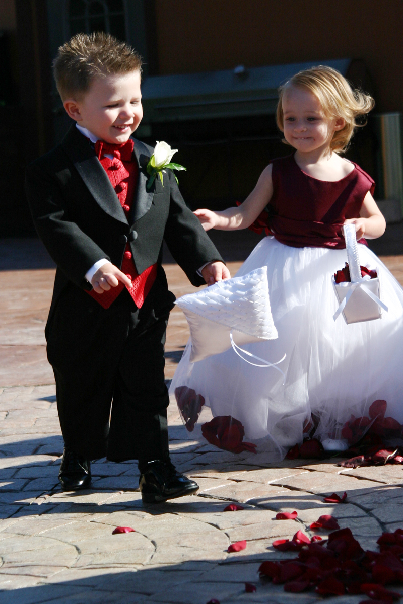Ceremony, Flowers & Decor, Flower, Girl, Ring, Bearer, Melissa anne photography