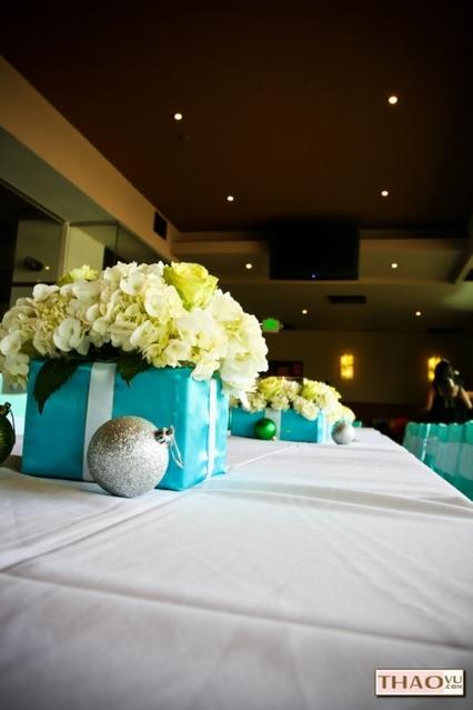 blue, Bridal, Theme, Tiffany, Coordinator, Viviantrancom, Shower, Linen, Miklandesignscom