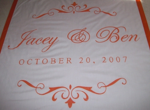 Wedding, Custom, Elegant, Aisle, Personalized, Runner, Runners, Wwwchicuniqueinccom