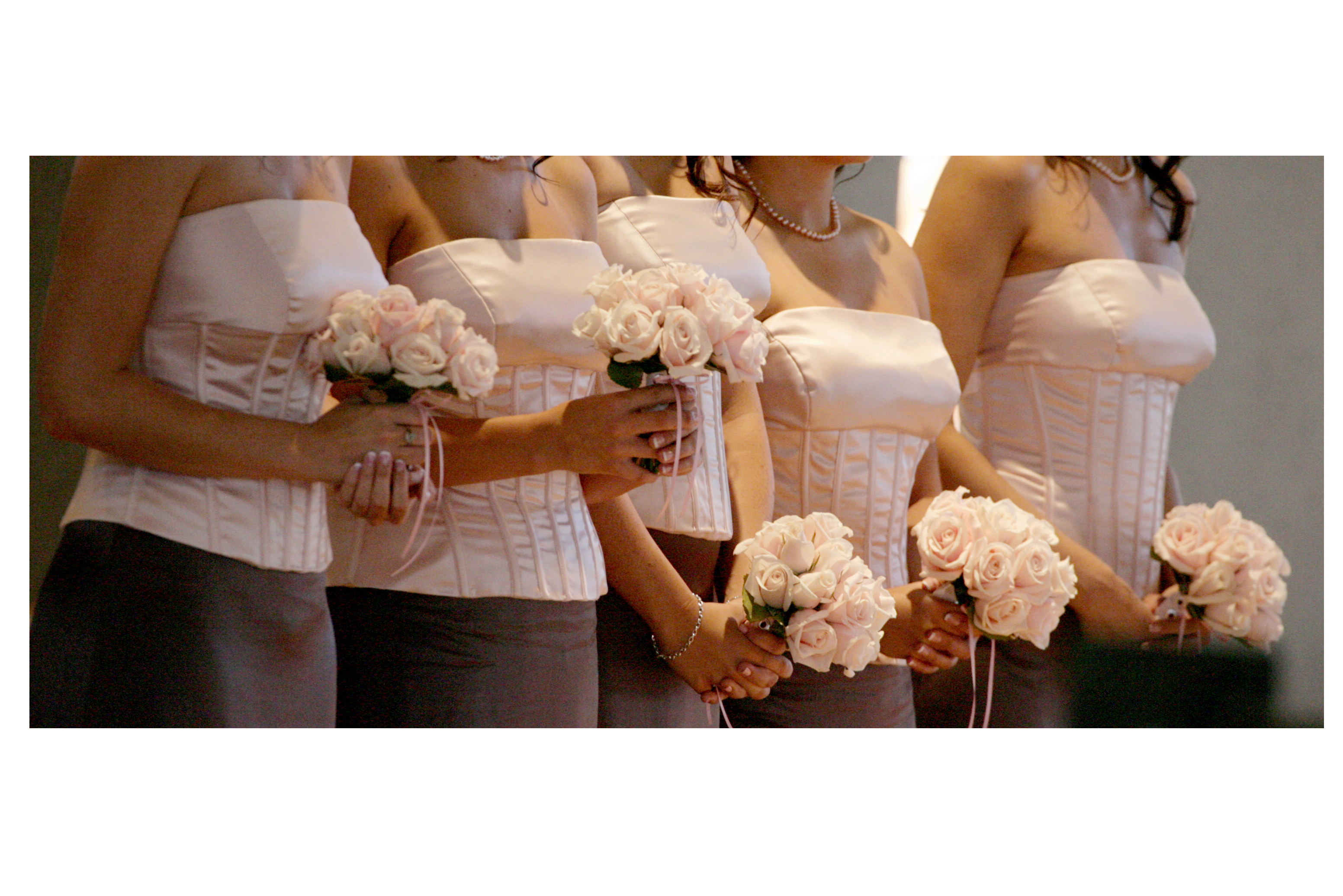 Flowers & Decor, Bridesmaids, Bridesmaids Dresses, Fashion, pink, brown, Bride Bouquets, Bridesmaid Bouquets, Flowers, Bouquet, Flower Wedding Dresses