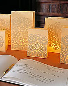 DIY, Flowers & Decor, Decor, Candles, Martha stewart, Luminaria