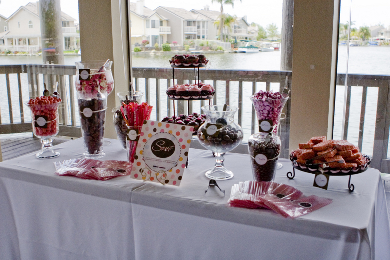 Candy, Buffet, Ocs finest weddings