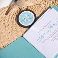 Ceremony, Flowers & Decor, Stationery, Ceremony Programs, Program, Fan