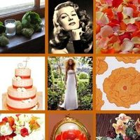 orange, Inspiration board