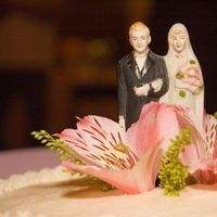 Cakes, cake, Vintage, Vintage Wedding Cakes, Topper