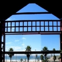 Beach, Dining, Outdoor, Ocean, View, Spark woodfire grill huntington beach, Patio