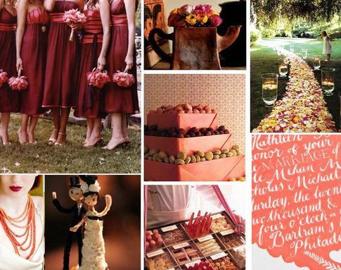 orange, red, Inspiration board