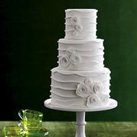 Garden Wedding Cakes, Modern Wedding Cakes