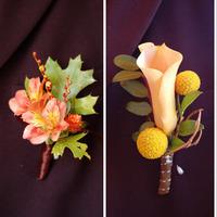 Boutonniere, Poppys petalworks