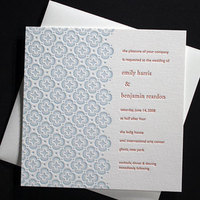 Stationery, blue, Invitations, Bella figura
