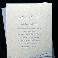 Stationery, blue, Modern, Invitations, Bella figura