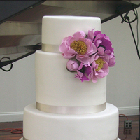 Cakes, white, cake, Modern, Modern Wedding Cakes, Lavender
