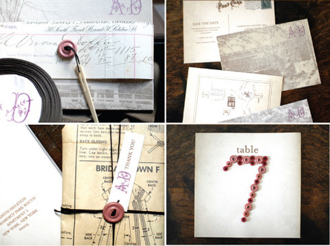 Stationery, white, pink, Invitations, Save-the-Dates, Table Numbers, Inspiration board