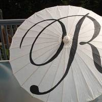 Monogram, Wedding, Parasol, You, Thank, I do originals- custom aisle runners, table runners, banners, and wedding monograms
